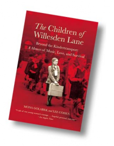 Book cover - The Children of Willesden Lane