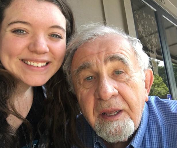 Madison and Ed, survivor of the Holocaust