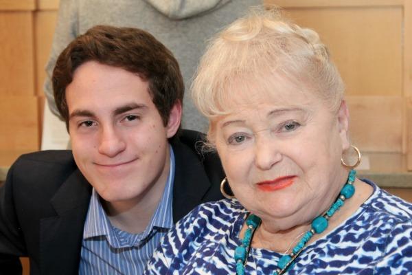 Seth and Gloria, survivor of the Holocaust