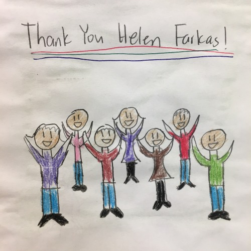 Picture from one of the letters to Helen from Mt. Eden High School