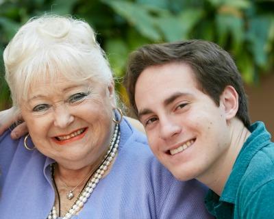 Seth E. and Holocaust survivor Gloria L.