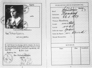 Passport for Eva Rosenbaum