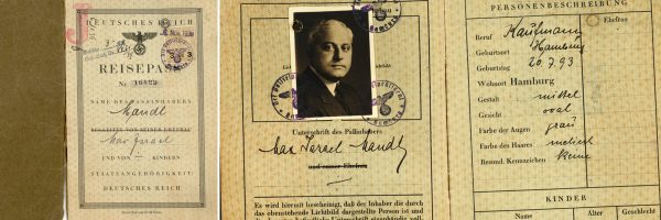 Max Mandl passport