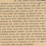 Letter dated 1937